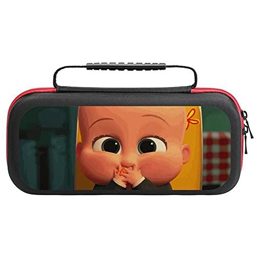 BOSS Baby Tragetasche für Nintendo Switch Lite, tragbare Clutch mit Spielkartenhalter