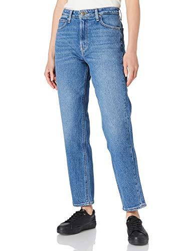 Lee Carol Jeans Vaqueros, Diseño De Hojas Vintage, 26W / 31L para Mujer