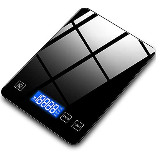 bilancia da cucina nera Bilancia da cucina digitale