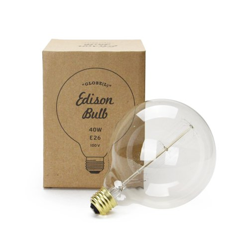 エジソンバルブ Globe L エジソンランプ 電球 edison bulb 40W E26