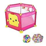 LXDDP Corralito Seguridad para bebés con Pelota y colchón, corralito para...
