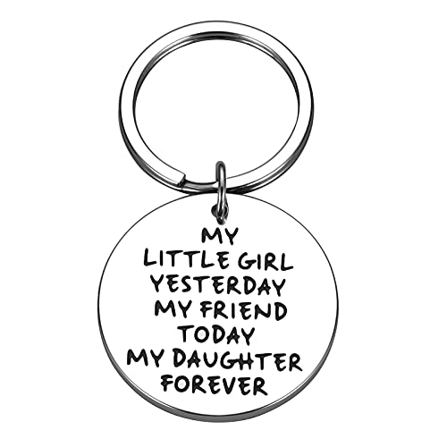 Daughter Gifts from Mom Dad, Daughter Keychain from Parents Birthday...