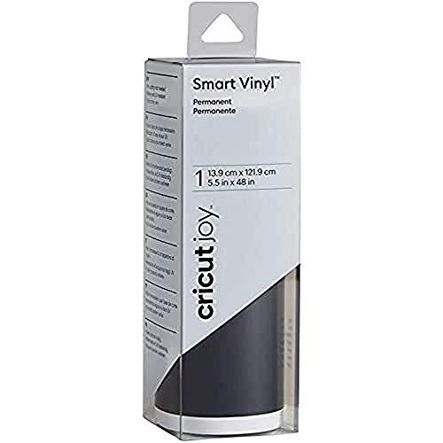 CRICUT Joy Smart Vinyl Permanent 14x122cm(BLK) M3, Negro
