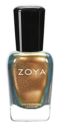 ZOYA ゾーヤ ネイルカラー ZP811 AGGIE アギー 15ml 2015 FLAIR Collection 秋ファッションにピッタリのゴージャスなゴールド パール 爪にやさしいネイルラッカーマニキュア