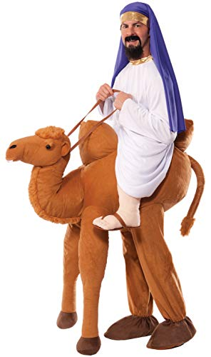 Forum Novelties Ride-A-Camel Adult Costume, Brown, One Size