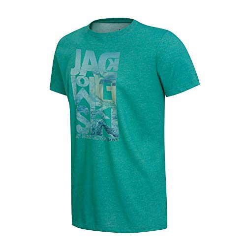 Jack Wolfskin Herren Atlantic Ocean T-Shirt, Emerald Green, L