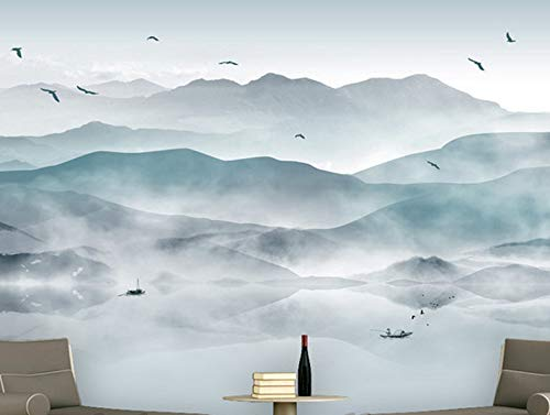 Preisvergleich Produktbild Yirenfeng Benutzerdefinierte 3D Fototapete Chinesischen Abstrakten Wandbild Schlafzimmer Wohnzimmer Tv Kulisse 3D Landschaftsmalerei Abstract Mural Wallpaper140x70CM