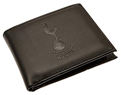 Tottenham Hotspur FC - Authentic EPL Debossed Crest Leather Wallet in Gift Box