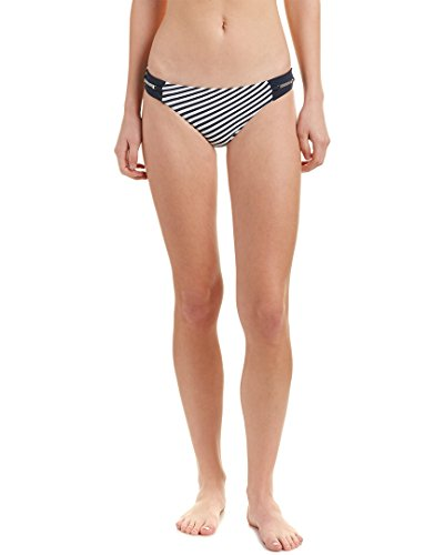 Heidi Klum Swimwear Damen Sun Dappled Decadence Classic Bikini Bikinihose, Mehrfarbig (Black Iris/Storm Biws), 34 (Herstellergröße:XS)