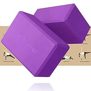 Trideer Yoga Blocks 2 Pack - Premium EVA Foam