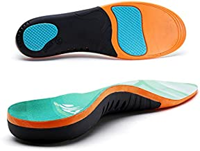 VALSOLE Plantar Fasciitis Orthotic Shoe Inserts,Athletic Running Insoles for Women and Men,Arch Support Gel Comfort Shoe Insoles,Relieve Fallen Arch,Flat Feet,metatarsalgia,Pronation,Heel Pain