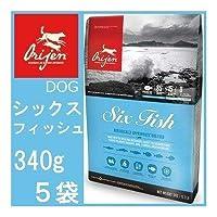 オリジン 6フィッシュドッグ(子犬~高齢犬)340gx5袋