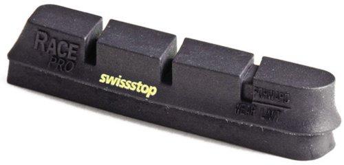 SwissStop Race Pro Rennradbeläge, für Carbon, schwarz (Black Prince)
