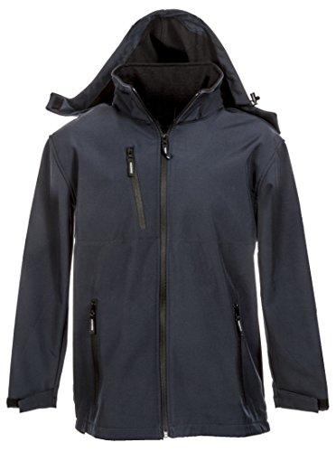 Seba 954S Soft Shell jas met capuchon Xl zwart.