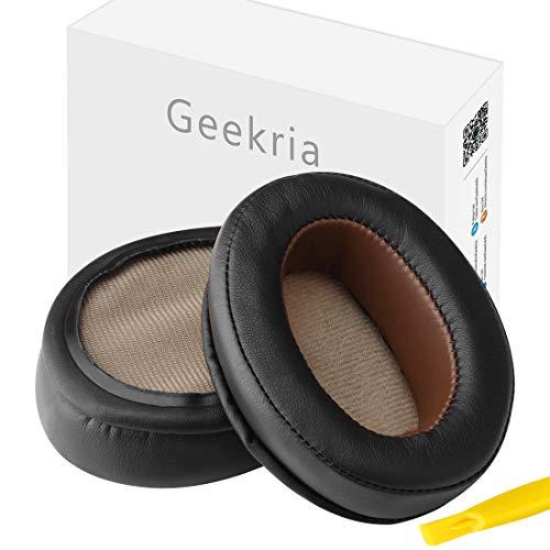 Geekria Earpad for Sennheiser Momentum 2.0 Over-Ear Headphone Replacement Ear Pads/Ear Cushion/Ear Cups/Ear Cover/Earpads Repair Parts (Dark Brown)