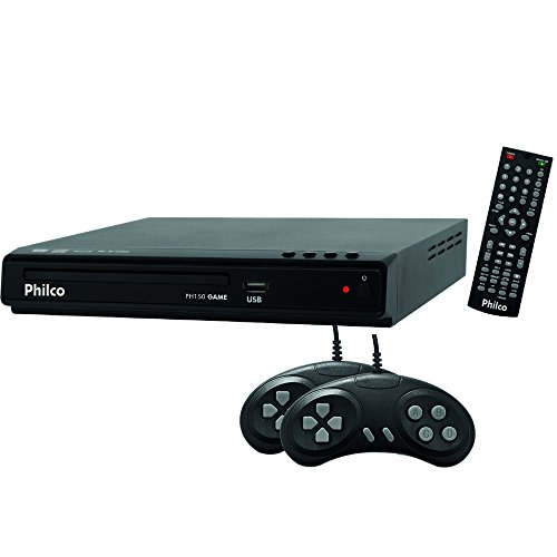 DVD Player, Philco PH150 Game, Preto