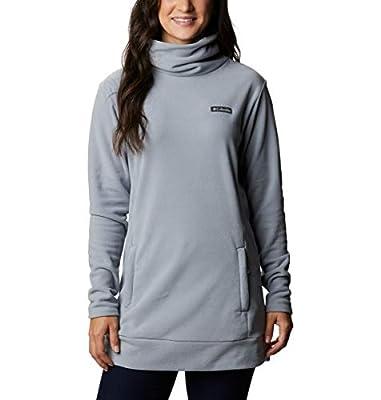 Columbia Women's Ali Peak Fleece Tunic, Tradewinds Grey, Large