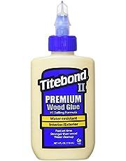 Titebond II Premium houtlijm, waterbestendige houtlijm voor professioneel gebruik, maat: 118 ml, 1 stuk, 500-2