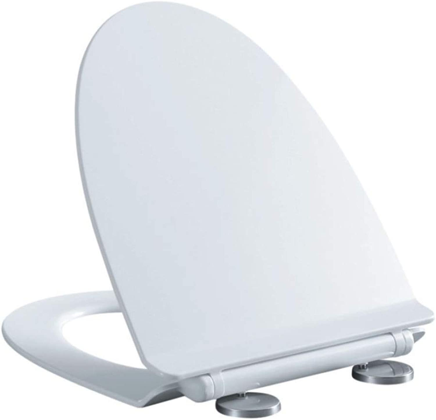 Universal Toilet Seat V Shape Drop Mute Antibacterial Easy To Install Top Mounted Toilet Lid For Adult