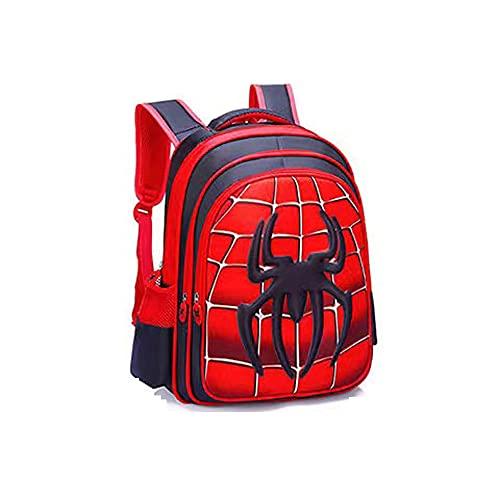 Ktimor Zaino Spiderman, Marvel Spider-Man Zainetto per Bambini,Borsa da Scuola per Bambini, Zaino per Bambini Spiderman, Borsa per La Scuola Materna, Borsa per La Scuola Elementare, Tre Taglie