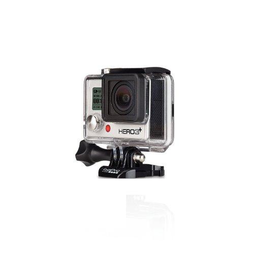 GoPro HERO3+ Silver Edition Videocamera 10 MP, 1080p/60 fps, 720p/120 fps, Wi-Fi [Regno Unito/Francia]