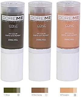 Doreme Permanent Makeup, Microblading Pigment Sets (Concentrate Correction Set)