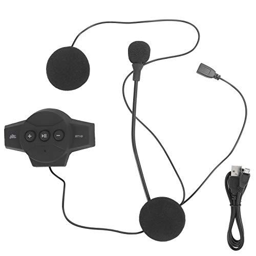 Fybida Conexión Estable a Prueba de Agua Auriculares portátiles para Motocicleta Auriculares Manos Libres para teléfonos móviles, TV, PC y Viajes