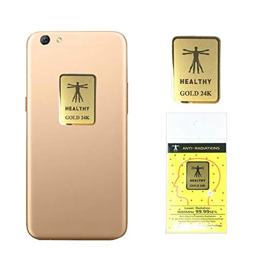 EMF Protection, Cell Phone Stickers, 6Pcs Anti Radiation Protector Sticker Suitable for Mobile Phones Laptop and All Electronic Devices EMF Blockers Sticker