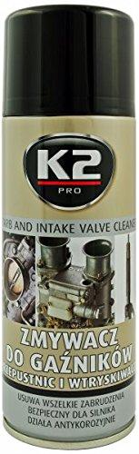 K2 Vergaserspray, Einspritzdüsenreiniger, Vergaserreiniger, Spray 400ml
