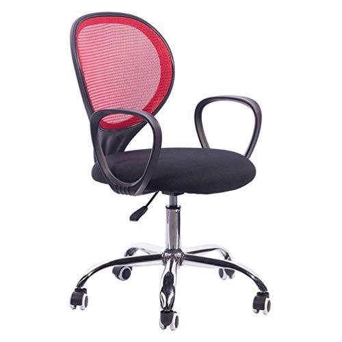 DFMD ergonomie van ademende tricots minimalistisch moderne bureaustoel met draaibare stoelen, bureaustoel moda slaapkamer, woonkamer, computer, zwart, groen