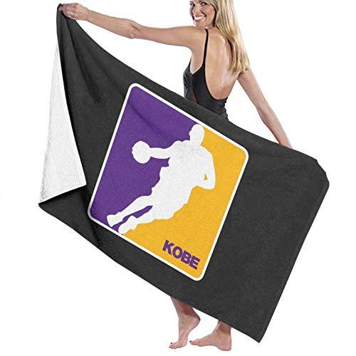 Kobe Nba Lakers Logo – Rip Kobe Toalla de baño de secado rápido Toalla de playa