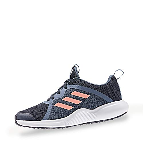 adidas Performance Fortarun X Laufschuh Kinder blau/pink, 3.5 UK - 36 EU - 4 US
