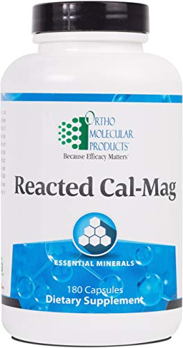 Ortho Molecular Product Reacted Cal-Mag - 180 Capsules