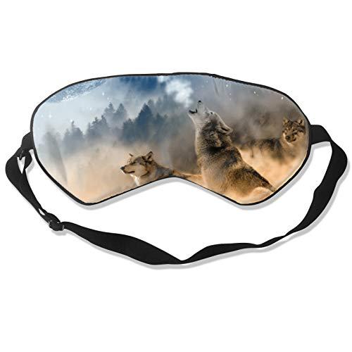 Augenbinde und Augenmaske mit verstellbarem Kopfband, langlebig, weich, für Schlaf, Reisen, Schichtarbeit, Meditation, Nickerchen