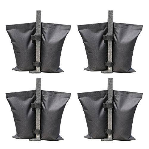 Yarnow 4Pcs Gewicht Tasche Sandsäcke für Pop-Up Baldachin Zelt Outdoor Camping Licht Steht Boom Arme Stative