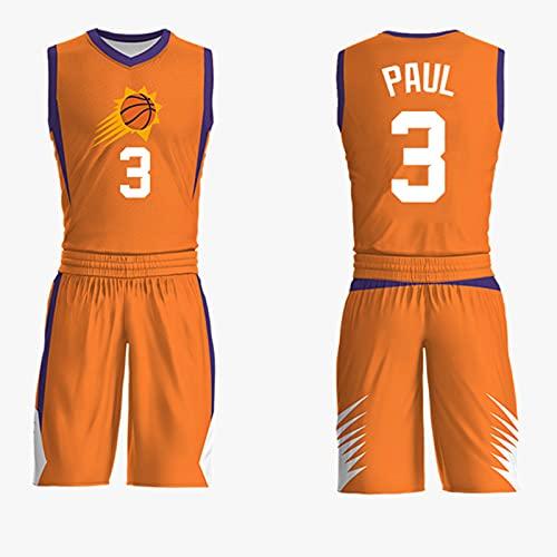 GFQTTY Camiseta De La NBA para Hombre, Phoenix Suns # 1, Chaleco Transpirable Fresco Y Transpirable, Camiseta De Baloncesto Swingman, Camiseta De Baloncesto para Hombre Y Mujer