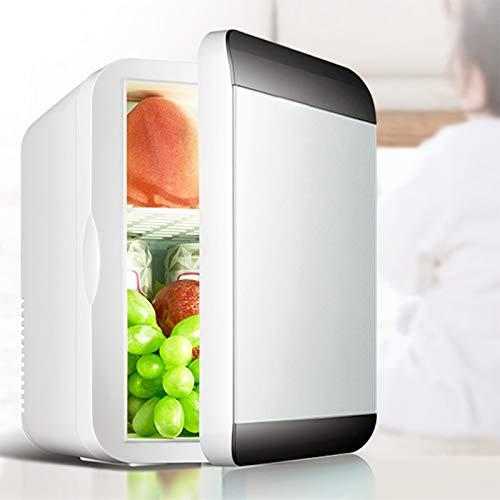GUTYRE Refrigeradores De Belleza, Mini Refrigeradores, Refrigeradores Domésticos Pequeños, Refrigeradores De Automóvil De Doble Uso, Congeladores Pequeños