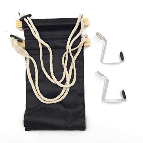 Fnemo Fußstützen-Hängematte,justierbare faltende hängende Fuß-Hängematte für Flugzeug, Büro, unter Schreibtisch, Auto, nach Hause entspannend