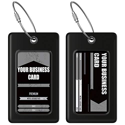 ProudGuy Luggage Tags TUFFTAAG, Business Card Holder, Suitcase Labels, Travel Accessories