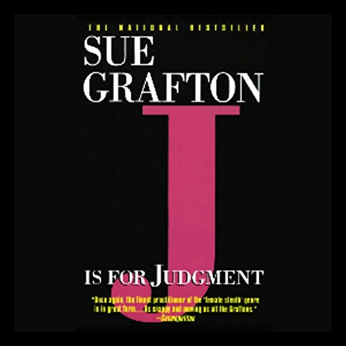 J Is for Judgment audiobook cover art