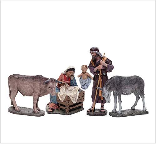 Figuras Pesebre, Belén J.L.Mayo Misterio Grupo de 5 figuras BEL901