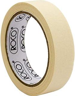 Roco Masking Tape, 25.00 mm ( .98 in )X 25.00 m ( 27.34 yd ), Beige