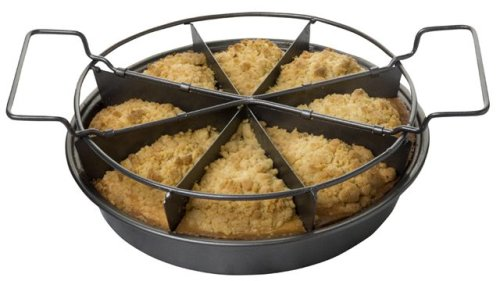 Slice Solutions 9-Inch Round Sectional Cake Pan Set