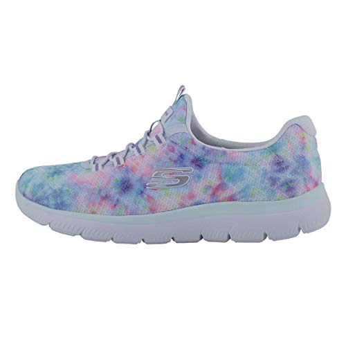 Skechers Women's, Summits - Looking Groovy Sneaker White Multi 8.5 M