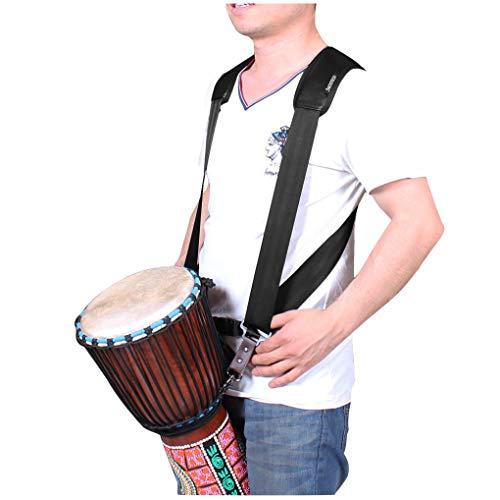IPENNY Afrikanischer Trommel Schultergurt Polyester Einstellbar Tragbarer Schnellladegurt Afrikanischem Tamburin Schulterriemen für Afrikanische Trommeln