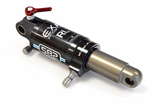 EXA FORM - 12104 : Amortiguador suspension trasera doble KS hidraulica muy regulable 279g bici bici