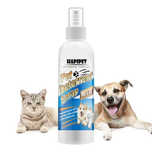 HAPIPET Cat Deterrent Spray, Pet Corrector Spray for Dogs and Cats, Safe for Pets and Protect Your House.
