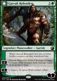 Garruk Relentless // Garruk, the Veil-Cursed - Foil - From the Vault: Transform