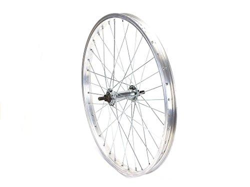 DELTA 20 Zoll Vorderrad Fahrrad Felge Vorderfelge 36 Loch Speichen mit Hutmuttern