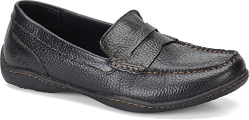 Men's Born, Roth Slip On Loafers Black 8 M